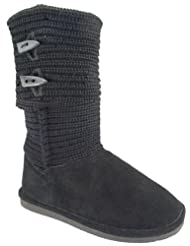 Bearpaw Womens Cable Knit Boot