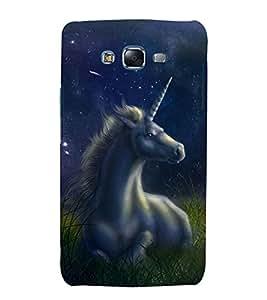 printtech Unicorn Fantasy Back Case Cover for Samsung Galaxy A8::Samsung Galaxy A8 A800F