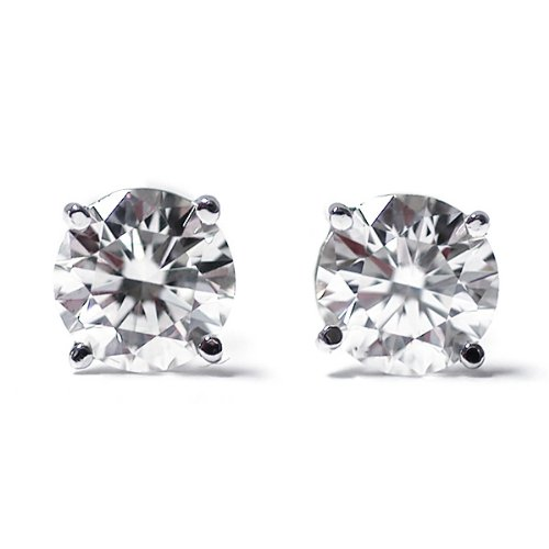 1-3-Ct-Round-Cut-14K-White-Gold-Diamond-Stud-Earrings