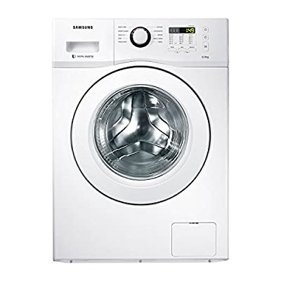 Samsung WF600B0BTWQ/TL Fully-automatic Front-loading Washing Machine (6 Kg, White)