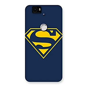 Gorgeous Yellow Day Back Case Cover for Google Nexus-6P