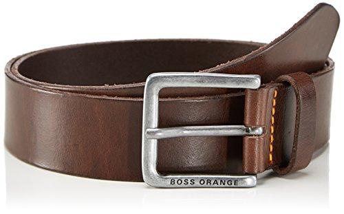 BOSS Orange - Jeek, Cintura da uomo, Dark Brown 202, 115 cm (taglia produttore: 115)