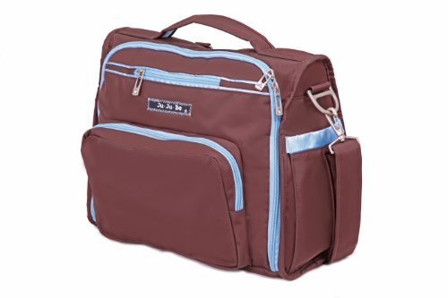 Ju-Ju-Be B.F.F. Convertible Diaper Bag, Brown/Robin