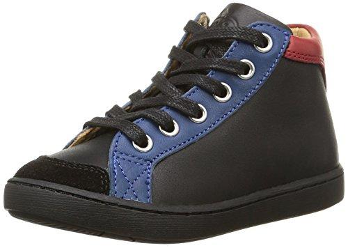 Shoo Pom - Play Zip, Sneakers per bambini e ragazzi, multicolore (lipiz black/bleu/k/multi), 28