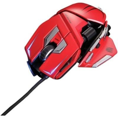 Mad Catz Mmo7 Red Mouse Reviews