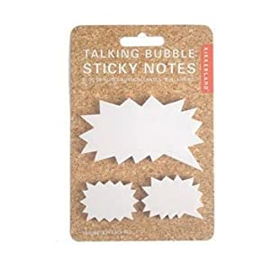 Jagged Speech Bubble Sticky Notes