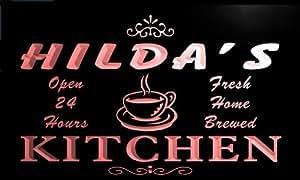 pc263-r Hilda's Coffee Kitchen Neon Light Sign
