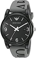 Emporio Armani Men's AR1067 Classic Analog Display Analog Quartz Grey Watch