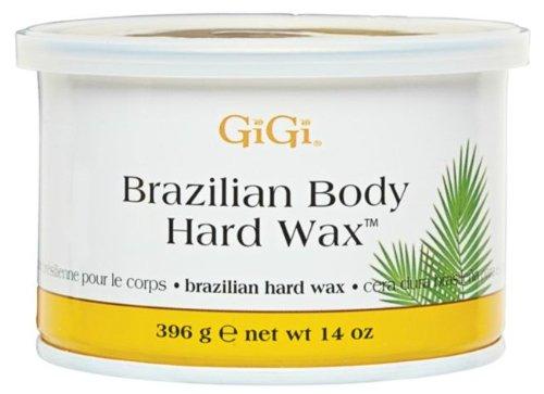 Gigi Hard Body Wax for Brazilian Sensitive Areas, 14oz