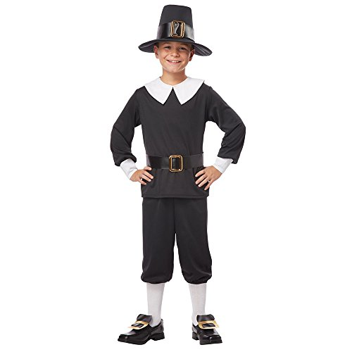 Boy Pilgrim Costume