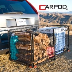CARPOD Hitch Mounted Cargo Rack M2200 by Carpod