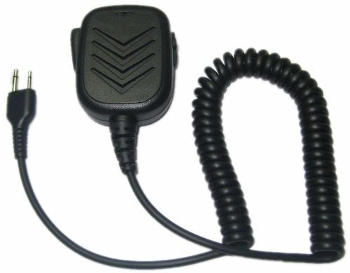SUNDELY Handheld/Shoulder Mic with Speaker for Midland GMRS/FRS GXT/LXT 2 Two Way Radio 2-pin