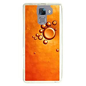 a AND b Designer Printed Mobile Back Cover / Back Case For Huawei Honor 7 (HON_7_2546)