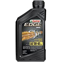 6-Pack Castrol 06249 EDGE 5W-40 SPT Synthetic Motor Oil (1 Quart Bottle)