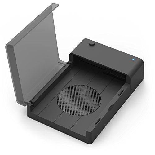 Sabrent USB 3.0 to SATA External Hard Drive Lay-Flat Docking Station with Built-in Cooling Fan for 2.5 or 3.5in HDD, SSD [Support UASP and 6TB] (EC-DFFN) (Hard Drive Cooling compare prices)