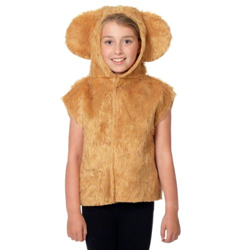 Bear Costume for kids. One Size 3-9 Years.
