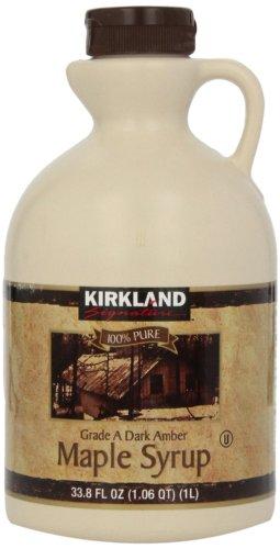【100%PURE】 KIRKLAND カークランド Aグレード メープルシロップ 1326g Glade A Maple Syrup カナダ産 COSTCO