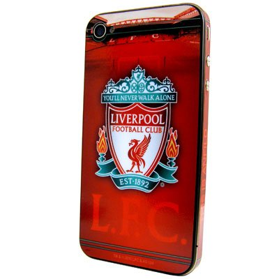 OFFICIAL LIVERPOOL FC IPHONE 4 SKIN COVER STICKER