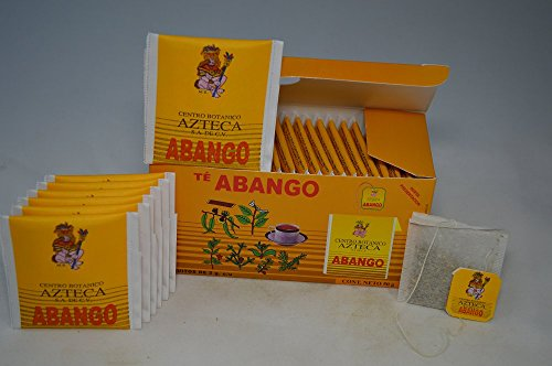 Te De Abango Auxiliary To The Respiratory Tract, Cough, Sore Throat, Colds And Flu.