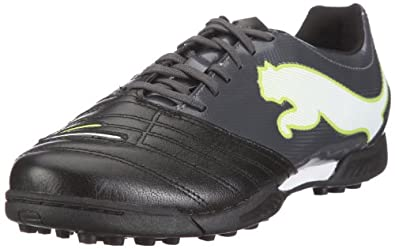 PowerCat 3.12 TF Football Trainers Black/Shadow/White - size 13