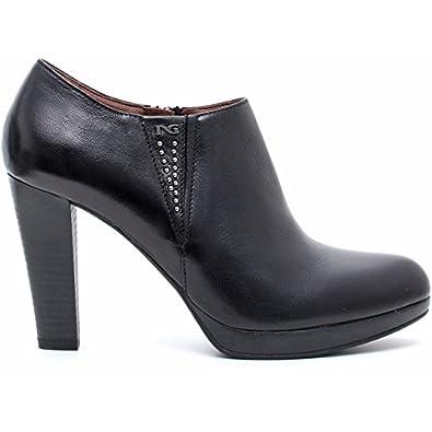 Nero giardini donna ai14 tronchetto 411212 nero 40 scarpe e borse - Amazon scarpe nero giardini ...