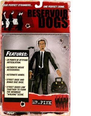 Picture of Mezco Reservoir Dogs - Steve Buscemi - Mr. Pink Action Figure - Quentin Tarantino - Mint - Collectible (B000IMPH58) (Mezco Action Figures)