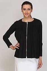 Kaaryah - Black Full Sleeves Top