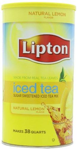 Lipton Sweetened Iced Tea Mix, Lemon,6 Lb