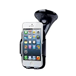 Merkury Color View Windshield Dashboard Car Mount Holder Cradle for iPhone 5 5S 5C 4S 4 3GS iPod Touch Samsung...