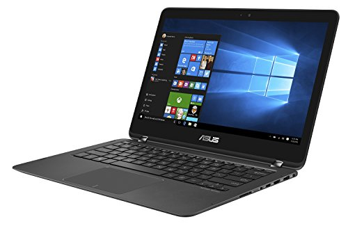 "Asus Zenbook UX360UAK-BB305T Ultrabook Tactile 13.3"" FHD Noir (Intel Core i7, 8 Go de RAM, SSD 512 Go, Windows 10, Garantie 2 ans)"