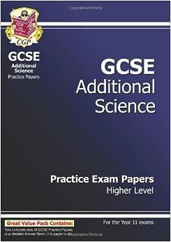 GCSE Combined Science Practice Paper Range