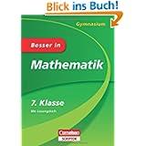 Besser in Mathematik - Gymnasium 7. Klasse - Cornelsen Scriptor