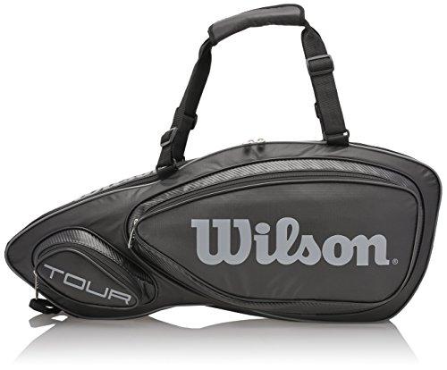 Wilson Tour V (3-Pack) Tennis Bag (Black)
