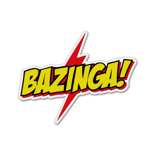 Bazinga Special Big Bang Theory Car Sticker Decal 5 Shopswell
