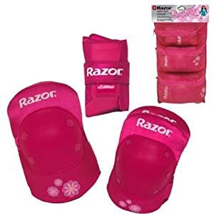 Kent 96782 Youth Pad Set With Guards Pink by Kent