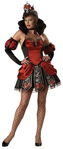 Queen of Broken Hearts Costume - X-Small - Dress Size 0-2