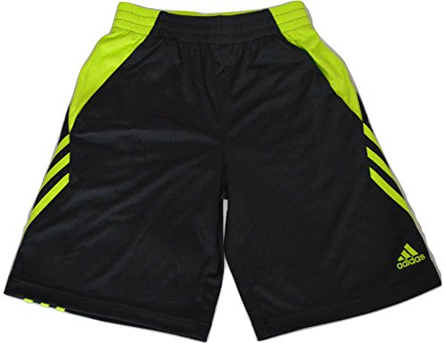 Adidas Climalite Athletic Shorts in Dark Gray and Safety Yellow (Small/8) Soccer Climalite Shorts