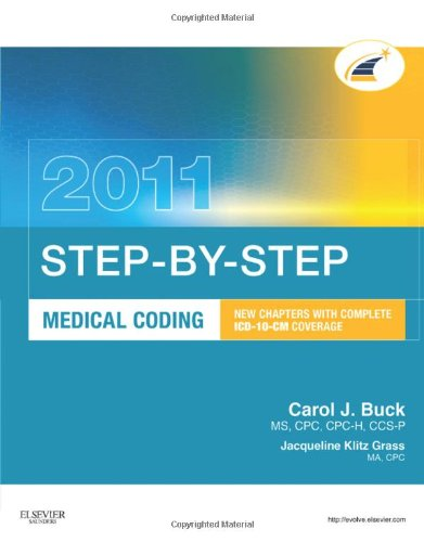 Step-By-Step Medical Coding 2011 Edition, 1E