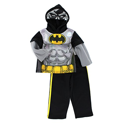Batman Boys Mask Sweatshirt and Sweatpants