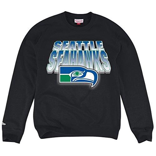 Mens-NFL-Mitchell-Ness-Blur-Crew-Sweatshirt--XXXX-LARGE
