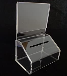 Amazon.com : Source One Small Slopie Donation/Ballot Box with Lock and