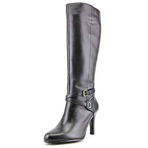 Lauren Ralph Lauren Becca Women US 7.5 Black Knee High Boot