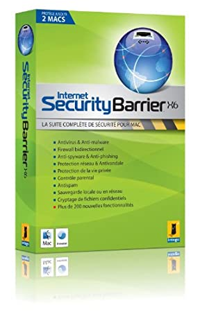 Internet Security Barrier X6 (2 postes - 1 an)