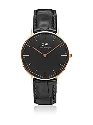 Daniel Wellington Reloj con movimiento cuarzo japonés Woman Classic Reading black 36 mm