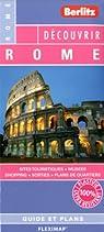 Rome - Plan plastifié de Rome et de son centre-ville