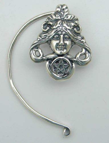 The First Goddess Ear Wrap in Sterling Silver. Why Be Ordinary? This Fits Either Ear, Let us Know if you Have a Preference