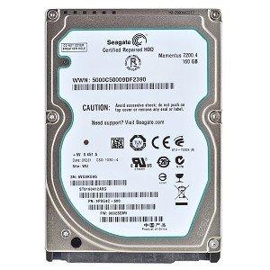 Seagate ST9160412ASG - 160GB 2.5'' SATA 7.2K 3GB/s Non Hot-Plug Hard Drive