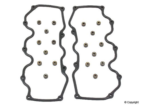 Nissan Pathfinder 3.3L V6 Engine Valve Cover Gasket Set (1996 96 1997 97 1998 98 1999 99 2000 00) mr gasket 6324 valve cover stud kit