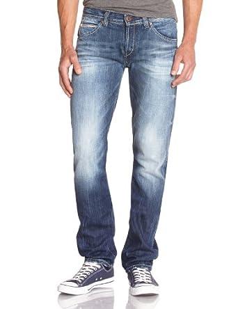 DN67 Men's TORONTO Straight Jeans  - Blue - Bleu (G310) - 28W/34L