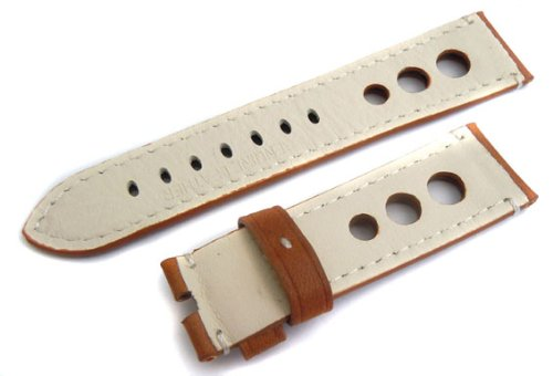Grand Prix 22mm Leather Watch Strap for Rolex Deepsea Sea-dweller motul kart grand prix 2 t